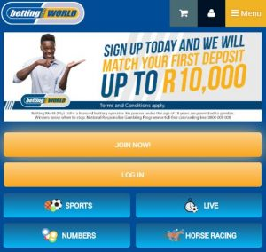 Sportingbet mobile betting world premier league betting tips free