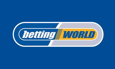Betting world logo with blue lay bet craps betting strategies