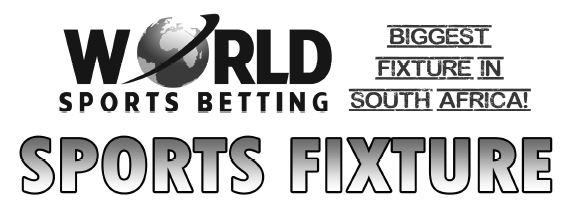 Sports betting africa fixtures binary options 60 seconds software reviews